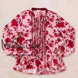 Matilda Jane Miri Tunic Blouse Pink Floral
